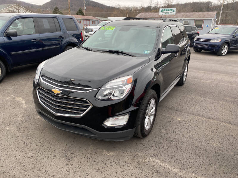 2017 Chevrolet Equinox for sale at Greens Auto Mart Inc. in Wysox PA