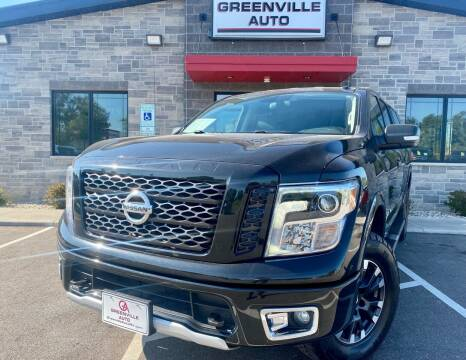 2018 Nissan Titan for sale at GREENVILLE AUTO in Greenville WI