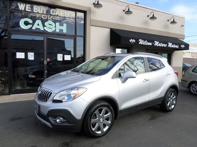 2014 Buick Encore for sale at Wilson-Maturo Motors in New Haven Ct CT