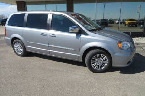 2015 Chrysler Town and Country for sale at DAKOTA CHRYSLER CENTER in Wahpeton ND