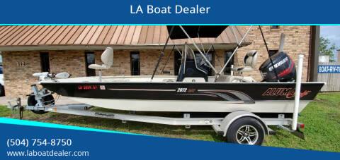 2016 Alumacraft 2072 BAY for sale at LA Boat Dealer - Bay Boats in Metairie LA