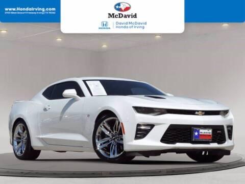 2018 Chevrolet Camaro for sale at DAVID McDAVID HONDA OF IRVING in Irving TX