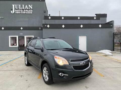 2014 Chevrolet Equinox for sale at Julian Auto Sales, Inc. in Warren MI