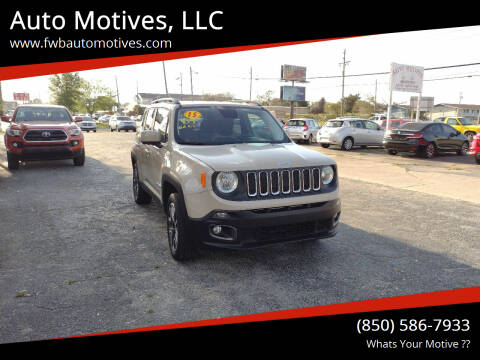 2015 Jeep Renegade for sale at Auto Motives, LLC in Fort Walton Beach FL
