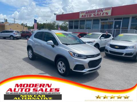 2021 Chevrolet Trax for sale at Modern Auto Sales in Hollywood FL
