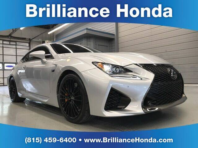 2016 Lexus RC F for sale in Crystal Lake, IL