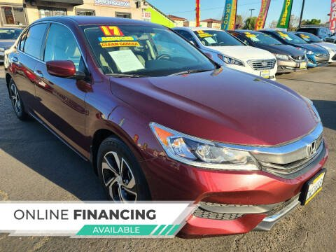 2017 Honda Accord for sale at Super Cars Sales Inc #1 - Super Auto Sales Inc #2 in Modesto CA