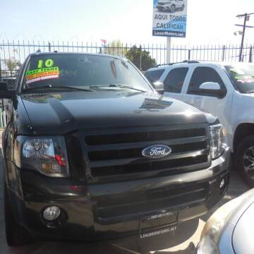 2010 Ford Expedition for sale at Luxor Motors Inc in Pacoima CA