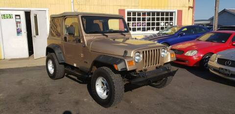 1999 Jeep Wrangler for sale at Virginia Auto Mall in Woodford VA
