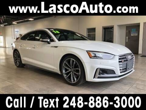 2018 Audi S5 Sportback for sale at Lasco of Waterford in Waterford MI