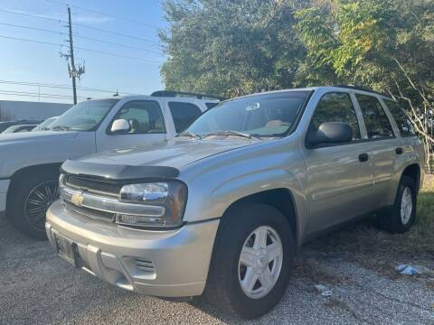 2008 Chevrolet TrailBlazer for sale at TWIN CITY MOTORS in Houston TX