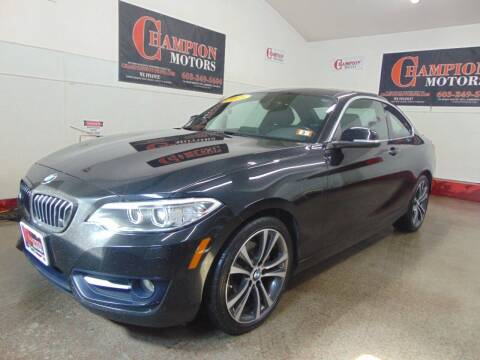 2015 BMW 2 Series for sale at Champion Motors in Amherst NH