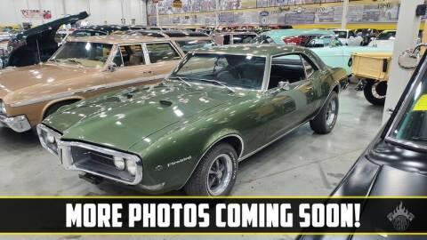 1968 Pontiac Firebird for sale at UNIQUE SPECIALTY & CLASSICS in Mankato MN