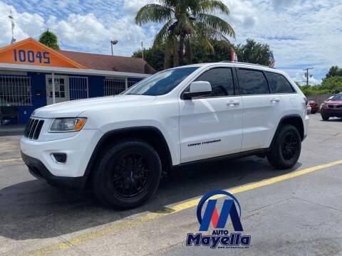 2014 Jeep Grand Cherokee for sale at Auto Mayella in Miami FL