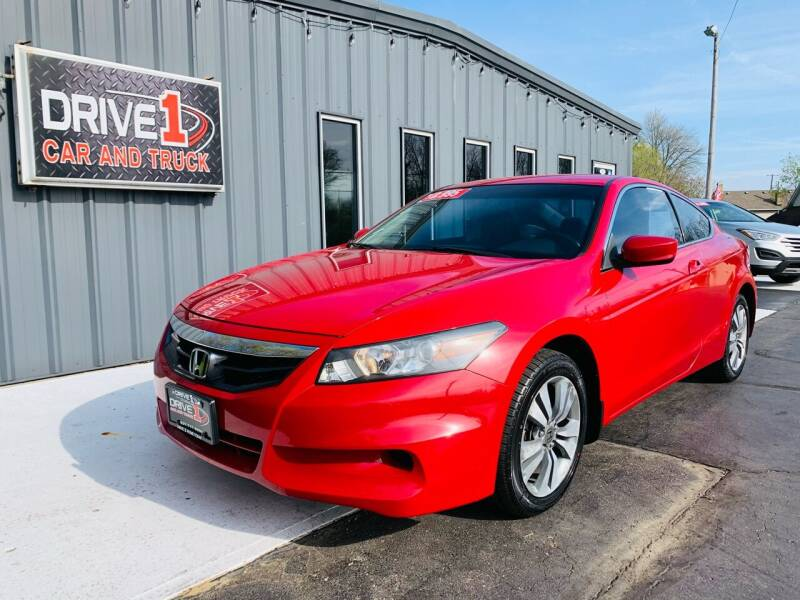 2012 Honda Accord for sale at Drive 1 Car & Truck in Springfield OH