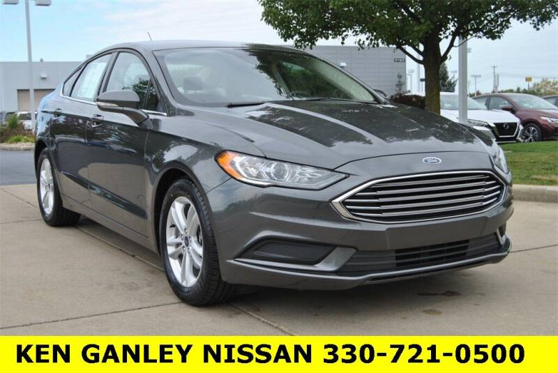 2018 Ford Fusion for sale at Ken Ganley Nissan in Medina OH