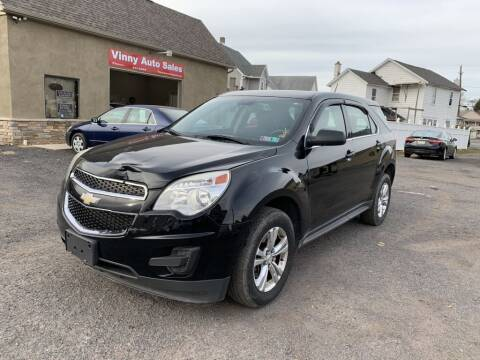 2013 Chevrolet Equinox for sale at VINNY AUTO SALE in Duryea PA