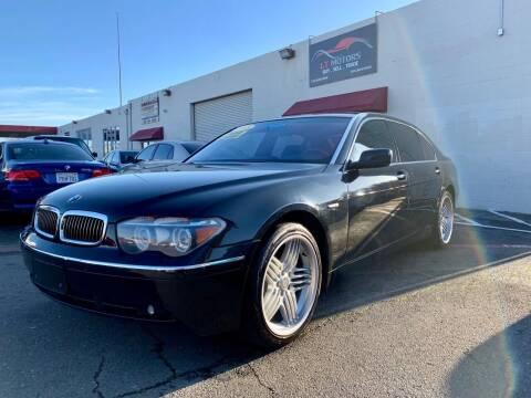 2005 BMW 7 Series for sale at LT Motors in Rancho Cordova CA