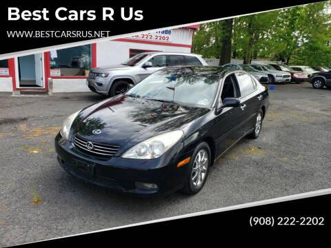 2002 Lexus ES 300 for sale at Best Cars R Us in Plainfield NJ