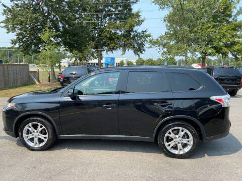 2015 Mitsubishi Outlander for sale at Econo Auto Sales Inc in Raleigh NC