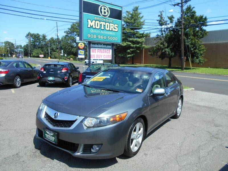 2010 Acura TSX for sale at Brookside Motors in Union NJ
