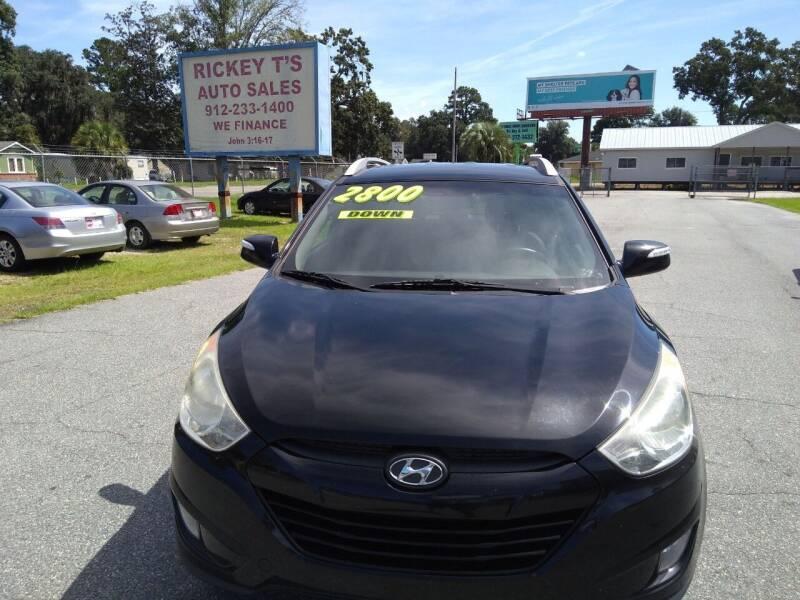 2013 Hyundai Tucson for sale at Rickey T's Auto Sales in Garden City GA