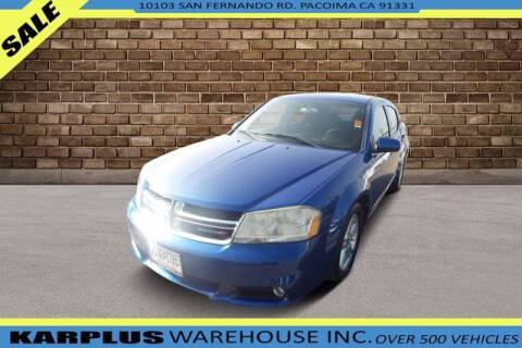 2013 Dodge Avenger for sale at Karplus Warehouse in Pacoima CA