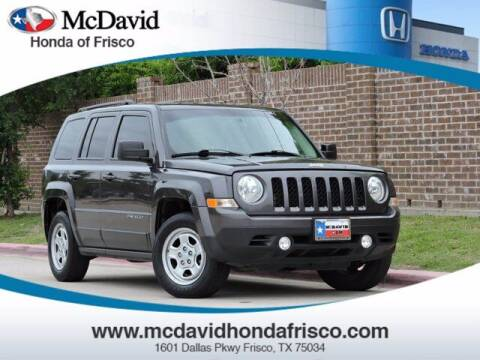 2017 Jeep Patriot for sale at DAVID McDAVID HONDA OF IRVING in Irving TX