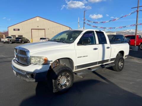 2004 Dodge Ram Pickup 2500 for sale at Auto Image Auto Sales in Pocatello ID