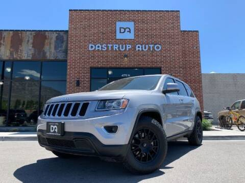 2014 Jeep Grand Cherokee for sale at Dastrup Auto in Lindon UT