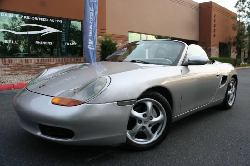 2000 Porsche Boxster for sale at CK Motors in Murrieta CA