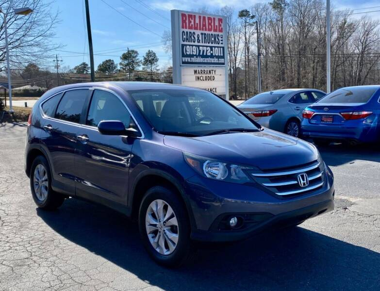 2013 Honda CR-V for sale at Reliable Cars & Trucks LLC in Raleigh NC