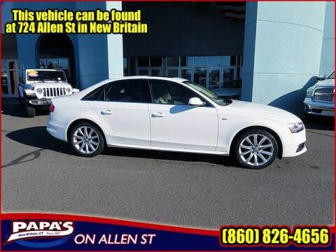 2014 Audi A4 for sale at Papas Chrysler Dodge Jeep Ram in New Britain CT
