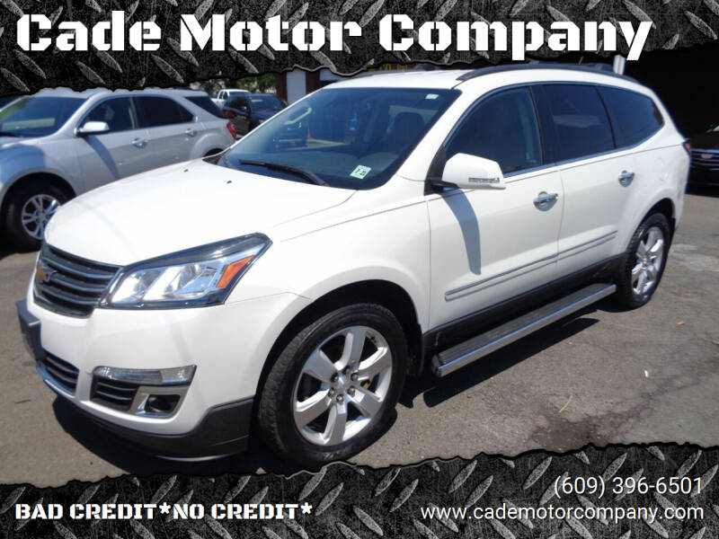 2016 Chevrolet Traverse for sale at Cade Motor Company in Lawrenceville NJ