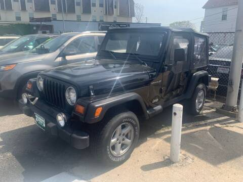 1998 Jeep Wrangler for sale at Park Avenue Auto Lot Inc in Linden NJ