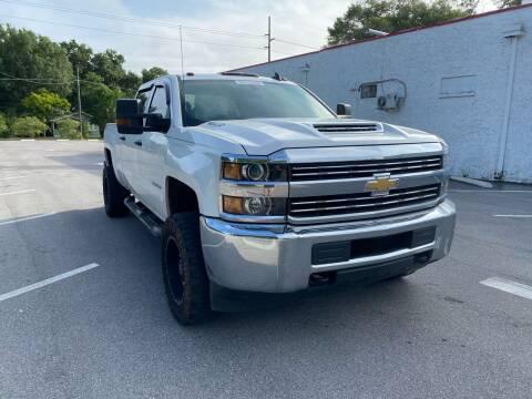 2017 Chevrolet Silverado 2500HD for sale at LUXURY AUTO MALL in Tampa FL