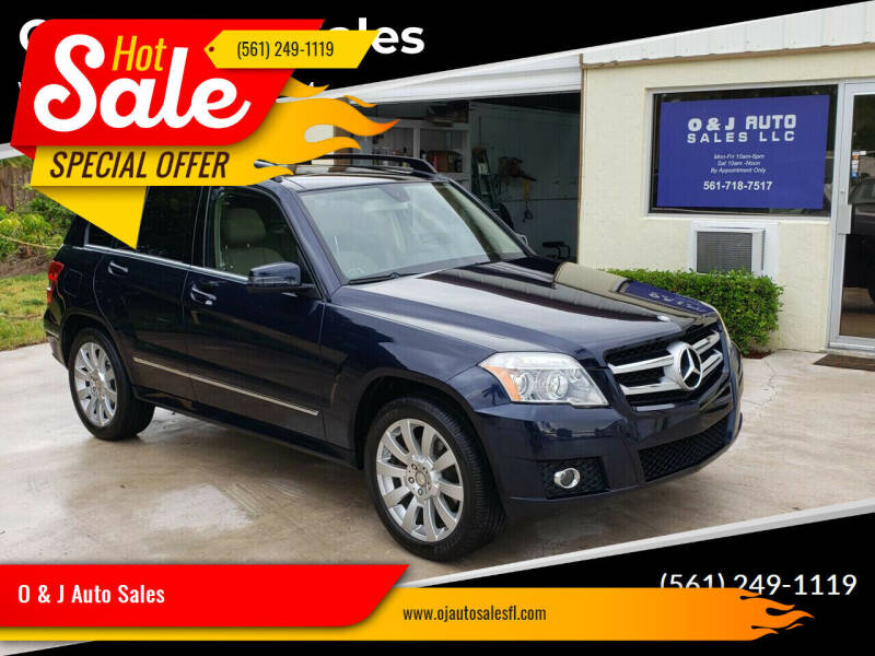 2012 Mercedes-Benz GLK for sale at O & J Auto Sales in Royal Palm Beach FL