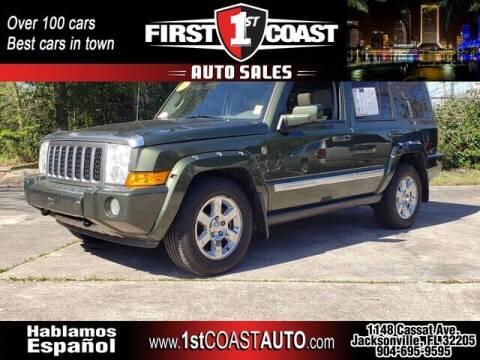 2007 Jeep Commander for sale at 1st Coast Auto -Cassat Avenue in Jacksonville FL