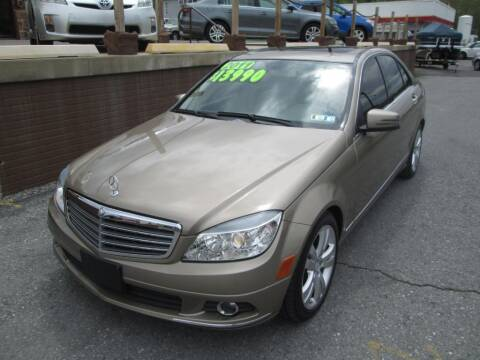 2011 Mercedes-Benz C-Class for sale at WORKMAN AUTO INC in Pleasant Gap PA