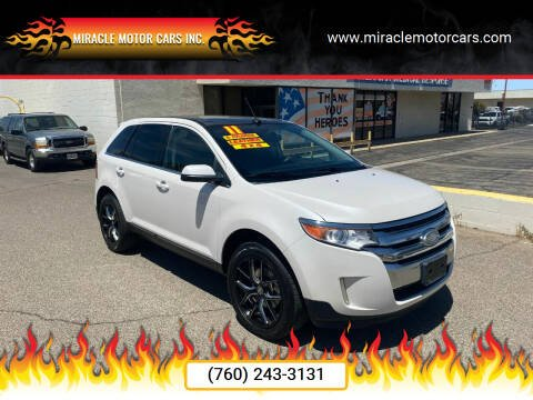 2011 Ford Edge for sale at Miracle Motor Cars Inc. in Victorville CA