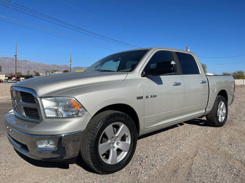 2010 Dodge Ram Pickup 1500 for sale at Tucson Auto Sales in Tucson AZ