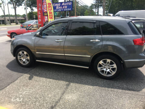 2009 Acura MDX for sale at King Auto Sales INC in Medford NY