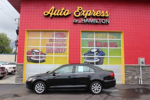 2013 Volkswagen Jetta for sale at AUTO EXPRESS OF HAMILTON LLC in Hamilton OH