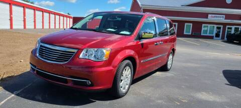 2016 Chrysler Town and Country for sale at Adrenaline Motorsports Inc. in Saginaw MI