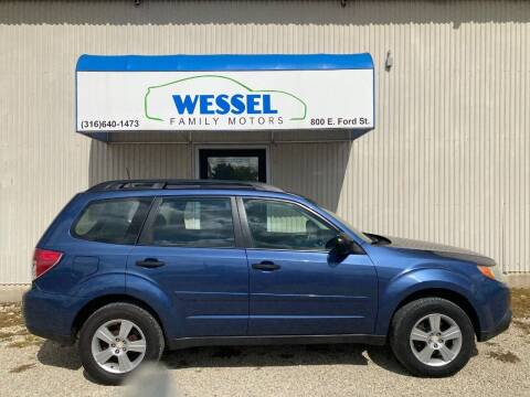 2012 Subaru Forester for sale at Wessel Family Motors in Valley Center KS
