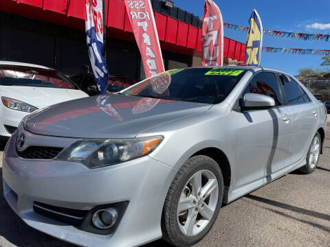 2014 Toyota Camry for sale at Duke City Auto LLC in Gallup NM
