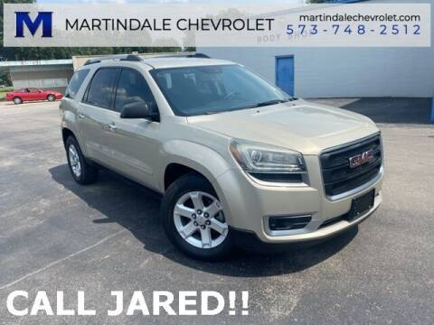 2016 GMC Acadia for sale at MARTINDALE CHEVROLET in New Madrid MO