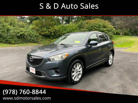 2013 Mazda CX-5 for sale at S & D Auto Sales in Maynard MA