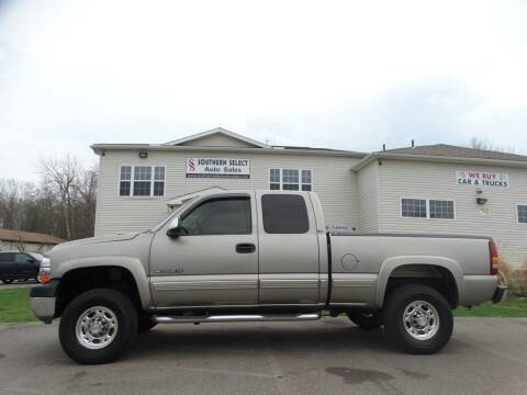 2002 Chevrolet Silverado 2500HD for sale at SOUTHERN SELECT AUTO SALES in Medina OH