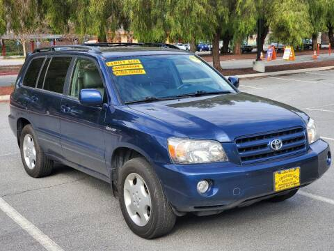 2004 Toyota Highlander for sale at ALL CREDIT AUTO SALES in San Jose CA